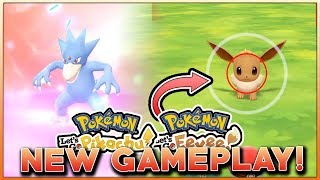 POKEMON LET'S GO PIKACHU & LET'S GO EEVEE NEW GAMEPLAY! WHERE TO CATCH EEVEE CONFIRMED!