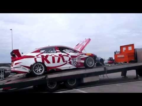 Repeat DYNO Kia Optima SX Lap3 Tune/ ARK turbo-back/ Injen