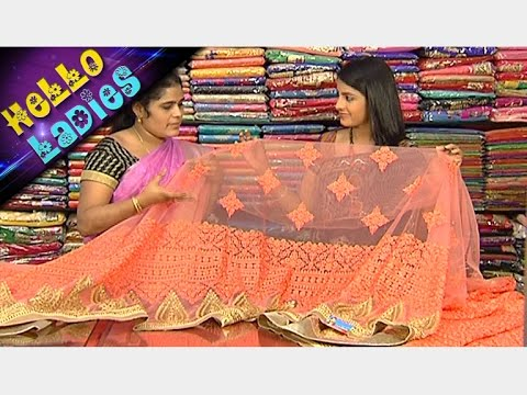 Latest Collections of Munga Silk And Designer Party Wear Sarees || Hello Ladies || Vanitha TV