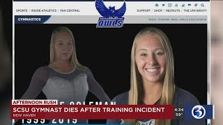 VIDEO: Southern Connecticut State University Student dies following gymnastics incident