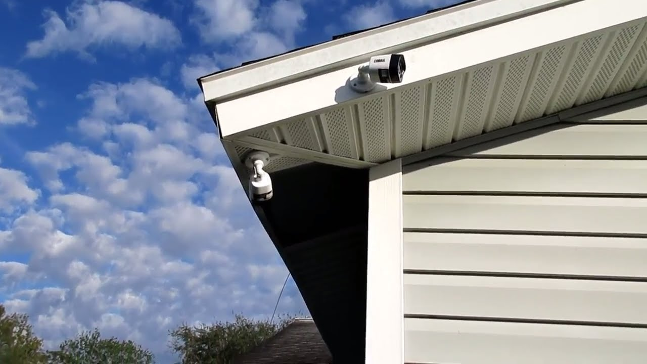 Installing The Cobra 63890 Security Camera At Todd S House