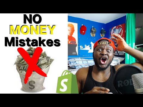 Top 5 Mistakes You've Made On Your Dropshipping Shopify Store Thats Killing Your conversions thumbnail