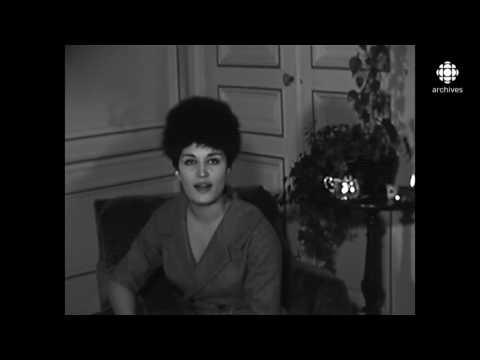 Dalida pour TV Radio-Canada [1961]