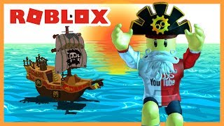 ROBLOX INDONESiA | Make Your PIRATE BOAT TOGETHER 😂