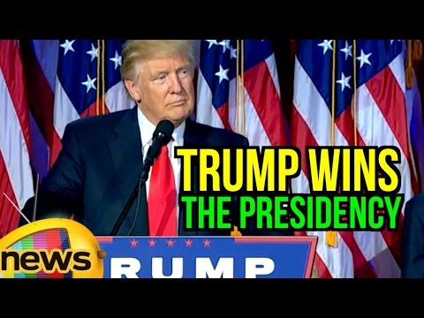 Donald Trump Wins The Presidency | Hillary Clinton Loses US Election 2016 | Mango News
