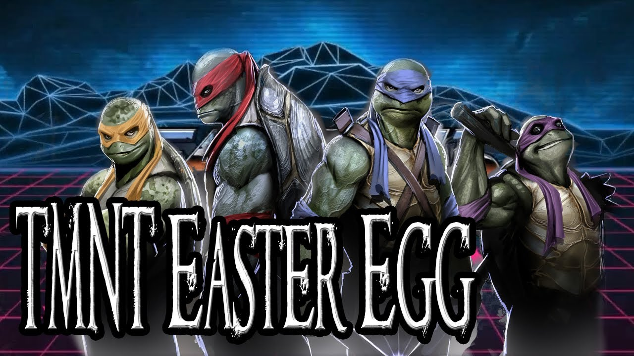 Far Cry 3 Blood Dragon Easter Egg Teenage Mutant Ninja Turtles Youtube