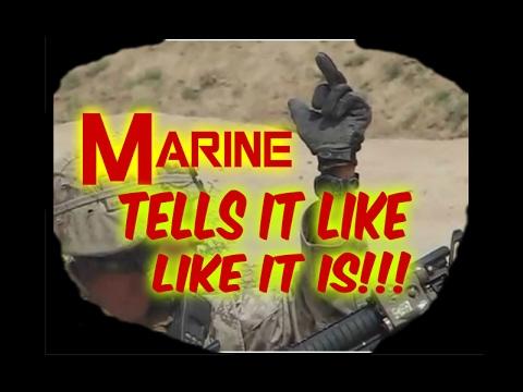 Marine Tells it like it is, SSG.Steven Gern, FULL INTERVIEW