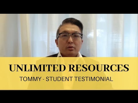 Unlimited resources  l  Jan'19 student's testimonial | Tommy | Diamond Cutter Singapore