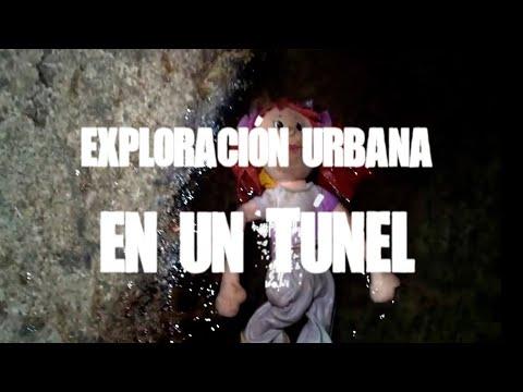 Exploración urbana en un túnel maldito