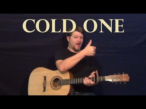 Cold One (Eric Church) Easy Guitar Lesson How to Play Tutorial