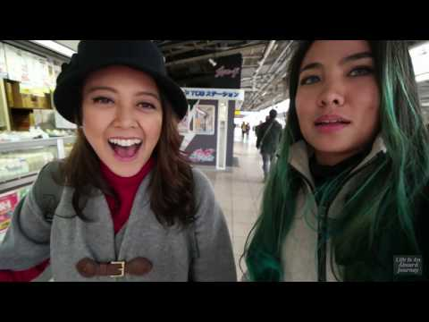 VLOG: All Day Train Trip With Ibu Hamil In Japan