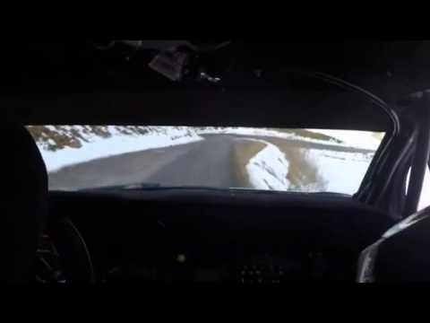 Sebastien Loeb Onboard Test For Monte Carlo Citroen Ds3 Wrc On The Limit