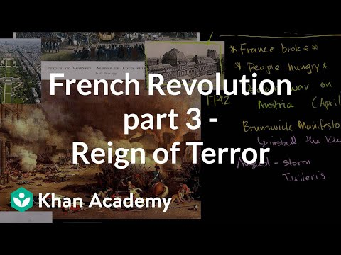 French Revolution (Part 3) - Reign of Terror