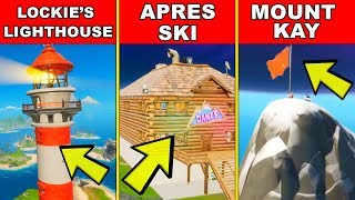 Land at Lockies Lighthouse Apres Ski and Mount Kay - Location Guide (Fortnite