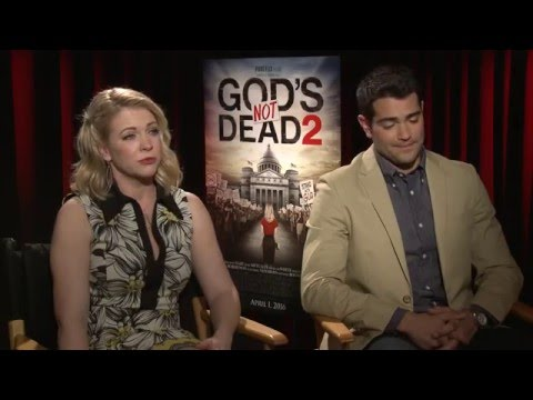 GOD'S NOT DEAD 2: Melissa Joan Hart & Jesse Metcalfe Talk About The Foundation of The Movie