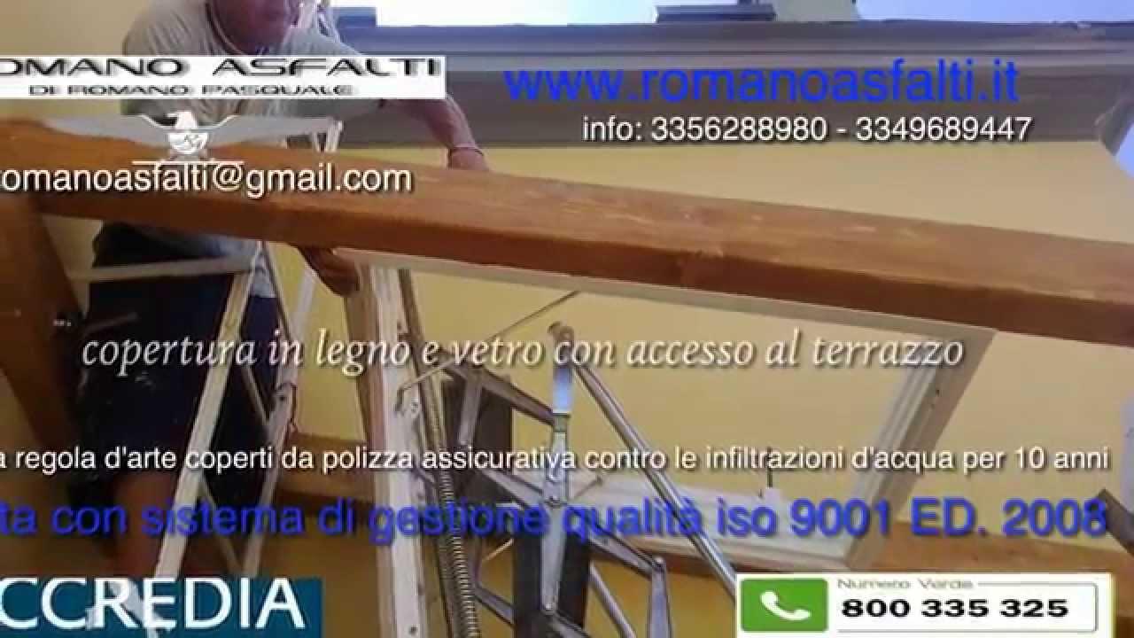 copertura legno e vetro - YouTube