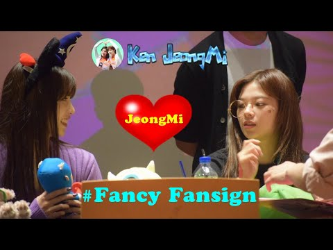 [FMV] Jeongyeon x Mina TWICE (JeongMi couple) - Fancy Fansign !!!