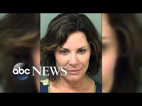 'Real Housewives' star blames arrest on 'buried emotions'