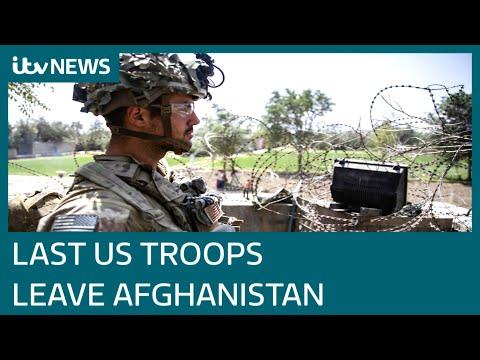 All US troops have left Afghanistan, ending America's longest war | ITV News