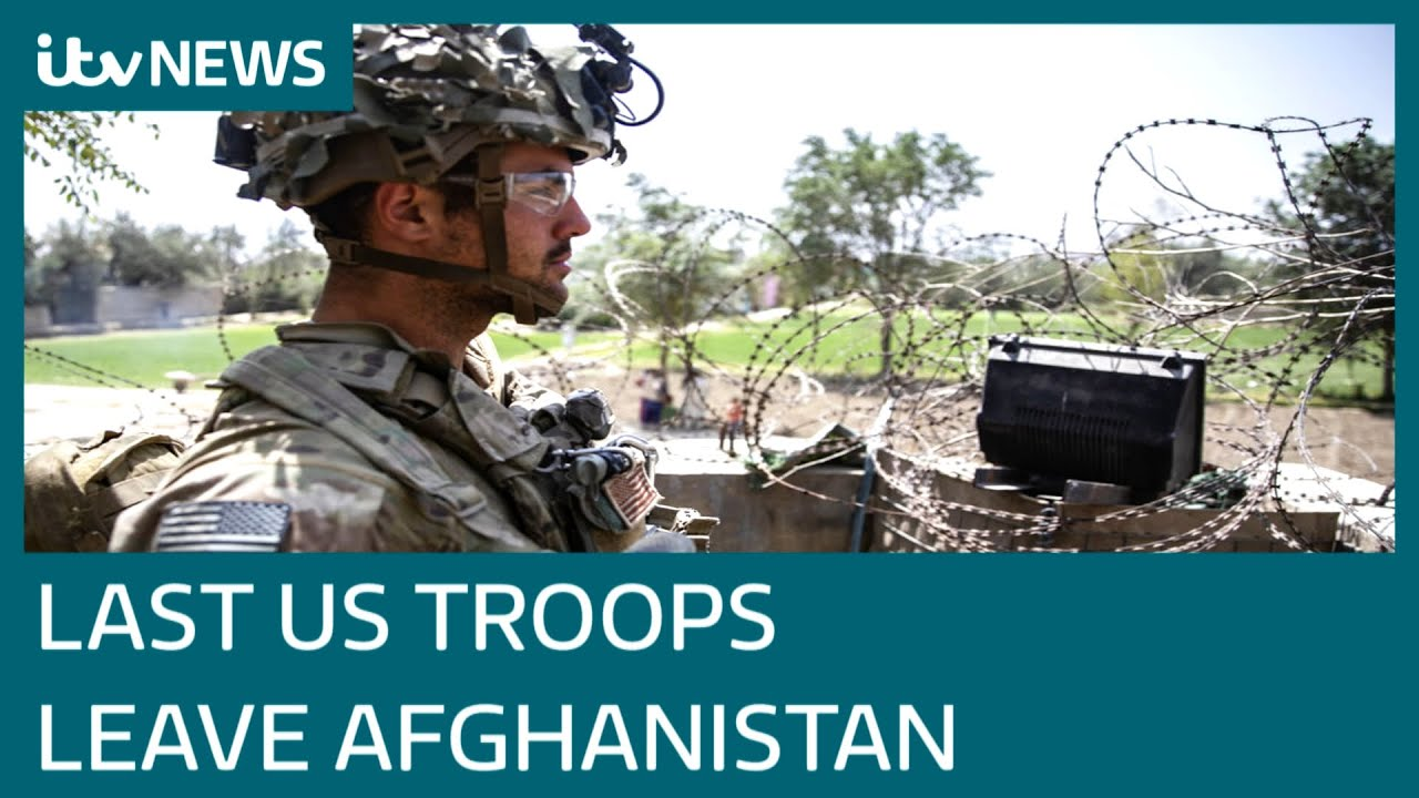Download All US troops have left Afghanistan, ending America's longest war | ITV News
