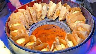 Уличная Тайваньская Еда - Запеченные в Тандыре Булочки ,Тайвань