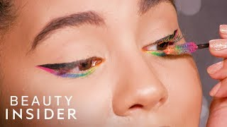 How To Create Rainbow Makeup Looks With Face Paint