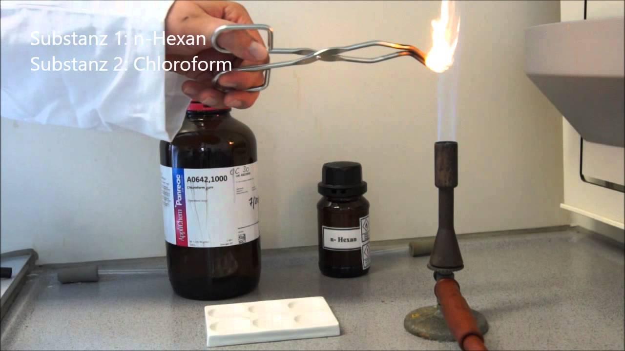 Mintovation Beilsteinprobe Nachweis Auf Halogene In Organisch Chemischen Verbindungen