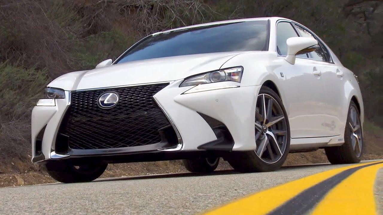2017 Lexus GS 450h F Sport (US spec) - YouTube