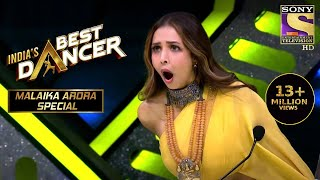 Sonal के धमाकेदार Performance से हुई Malaika Shock  Indias Best Dancer  Malaika Arora Special