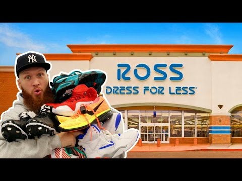 SEARCHING for LIMITED SNEAKERS at ROSS!