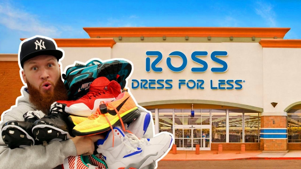 8d316d1f358b45 SEARCHING for LIMITED SNEAKERS at ROSS! - YouTube