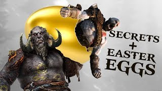 God of War - Top 10 Easter Eggs & References