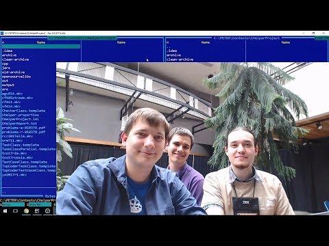 ICPC 2017 World Finals mirror Endagorion+Petr+tourist stream