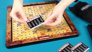 Scrabble Deluxe / Scrabble Prestiż - Board Game / Gra Planszowa - Mattel - www.MegaDyskont.pl
