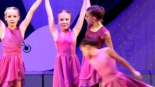 """Танец """"Хрустальный вальс""""творческий коллектив современного эстрадного танца """"Модерн."""