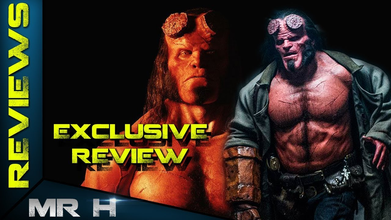 Hellboy 2019 EXCLUSIVE REVIEW Hard R With A Fun Tone