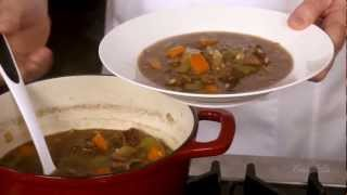 Cook With Campbell's - Low Sodium Hearty Beef & Barley Soup