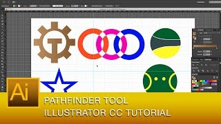 Adobe Illustrator CC Pathfinder Tutorial