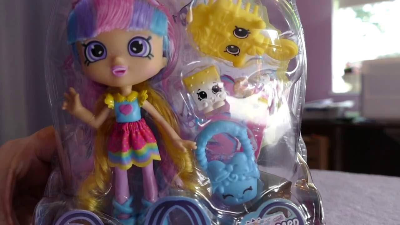 Rainbow Kate - Shopkins Shoppies - Doll Review, Doll ...