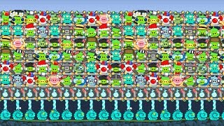 Bad Piggies - INTERESTING ALL DIFFERENT PIGGIES SKIN SILLY INVENTIONS!