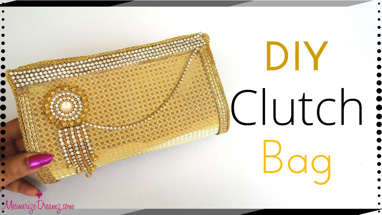 Diy Paper Clutch Bag Tutorial Step By Making At Home For S Agers Maya Kalista