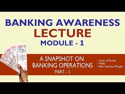 Banking Awareness Lecture - Module 1