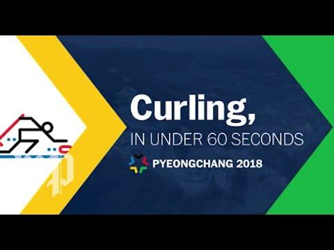 Curling, in under 60 seconds
