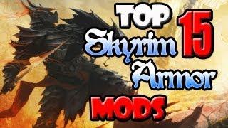 Repeat youtube video Top 15 Skyrim Mod Armor Sets!