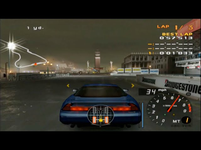 Enthusia Professional Racing - NSX Type-S Zero VS Viper GTS ( ZERO )