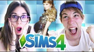 CÓMO SERÁ EL HIJO DE TAYLOR SWIFT Y YOEL | Sims 4 con Sara #15
