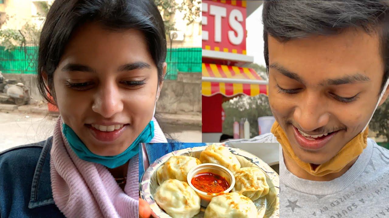 Momos wali khushi : Her Favourite ?  | Rishav Vlogs | DAILY VLOGS #80