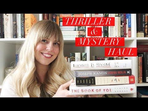 A HUGE Thriller & Mystery Book Haul