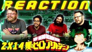 "My Hero Academia [English Dub] 2x14 REACTION!! ""Bizarre! Gran Torino Appears"""