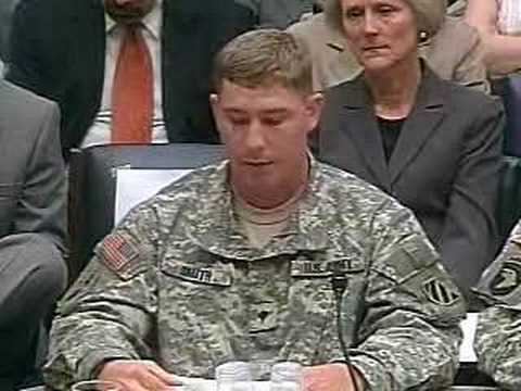 Hearing on Mental Health, Iraq & Afghanistan: Vets Speak